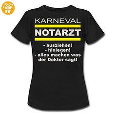 Karneval Notarzt Ausziehen Hinlegen RAHMENLOS Geschenk Fasching Frauen T-Shirt von Spreadshirt®, XXL, Schwarz - Shirts zum 30 geburtstag (*Partner-Link)