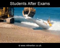 #Students after submitting #assignment | #MHR #Writer
