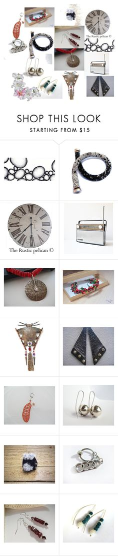 """Good Night From Greece!"" by anna-recycle ❤ liked on Polyvore featuring modern, rustic and vintage"