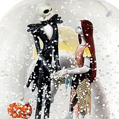 Jack Skellington and Sally Snowglobe