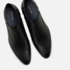 Image 5 of LEATHER OXFORD SHOES from Zara