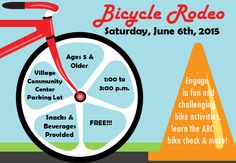 Hilton Parma Recreation Bicycle Rodeo Flyer