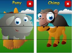 Toddler Animals - educational puzzle game for early childhood development and vocabulary ($0.00) Are you ready to teach your toddler about cute animals? With Toddler Animals your child will develop spatial skills while playing with brightly colored toddler animals. Animal sounds and music will enhance the experience.    ******* Recommended age: 2-4 ************    This app has been tested on kids younger than 2 and at the beginner level still delivered fun and educational experience.
