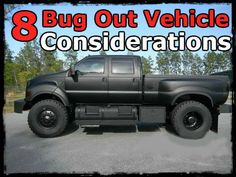 8 Bug Out Vehicle Considerations » The Preppers Life