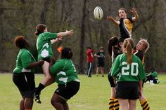 America's newfound love affair with rugby continues to be kindled through the introduction of the sport to high school kids. || Image Source:  https://theteenappeal.wordpress.com/2014/10/15/teens-try-to-tackle-a-new-sport-rugby/