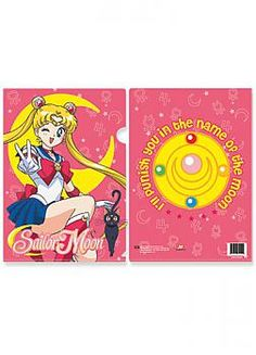 Sailor Moon File Folder - Moon and Brooch (Pack of 5)