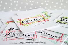 Card. Cardmaking. Tarjeta. Tarjeteria. Paper Smooches. Clearly Bessoted. Christmas. Navidad. Tarjetas en serie.
