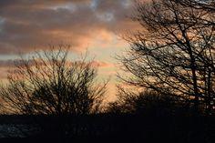 Solnedgang på amager  Strandvej