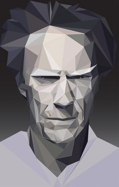 Famous Polygons by Marinos , via Behance