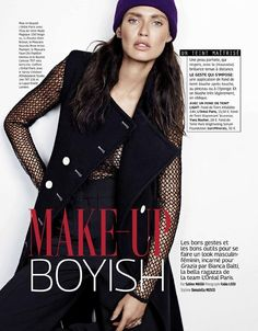 Make Up Boyish (Grazia France)