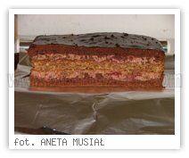 Wielkie Żarcie - Przepis - snikers czekoladowy z wiśniami - rewelacja