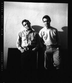 Jack Kerouac & Neal Cassady by Carolyn Cassady, 1952