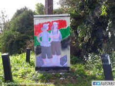 kunstkast giovanni margaroli Urban Street Art, Box Art, Holland, Painting, Dutch Netherlands, Painting Art, Netherlands, Paintings, The Netherlands