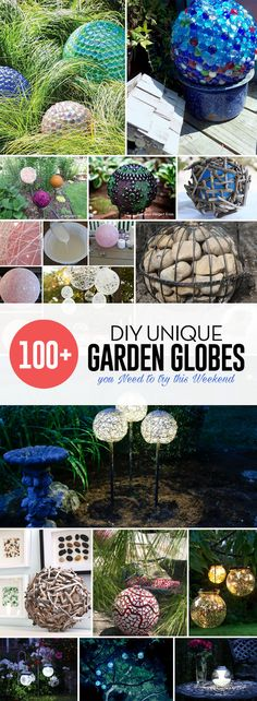 100+ DIY Unique Garden Globes You Need To Try This Weekend