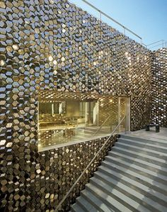 master bedroom door. | Tadao Ando + Olafur Eliasson | Tokyo Jewel Box : Architectural Digest