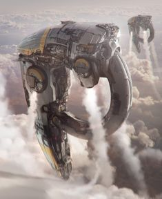 ArtStation - Spaceships design, Arnaud Kleindienst