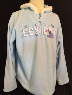 Disney Store Eeyore Hooded Sweatshirt Women Jacket S,M,L NEW oh well