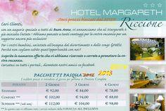Pasqua Riccione 2014 super sconto famiglie in Hotel 3 stelle in centro sul mare. Offerta per il Weekend di Pasqua 2014 a Riccione con prezzi uguali al 2012!!!