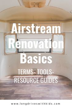 Vintage Airstream Renovation: The Basics Airstream Sport, Airstream Basecamp, Airstream Bambi, Airstream Trailers For Sale, Airstream Camping, Vintage Airstream, Vintage Travel Trailers, Vintage Campers, Camper Trailers