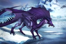 [C] Arctic Traveler by Adalfyre on DeviantArt Fantasy Creatures, Mythical Creatures, Dragon Anatomy, Shadow Dragon, Devian Art, Fantasy Beasts, Dragon Artwork, Dragon Pictures, Wings Of Fire