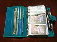 Ramblin' Mom: How I use a Personal Malden as a Wallet - Envelopes for Cash System, Envelopes for Receipts, Credit Cards, Budget, Bills Tracker and Calendar, Expense Tracker