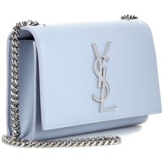 yves saint laurent monogram patent leather clutch