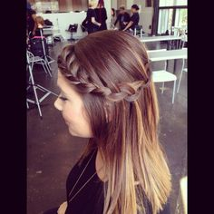 Ombré with braids #taylorhaire