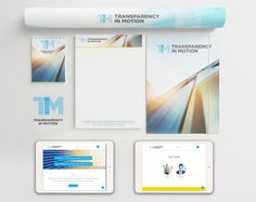 To create a brand identity for a new start up supplying business solutions.
