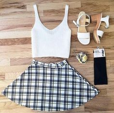 fashion, outfit, and crop top image