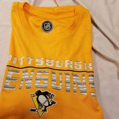 b11c030cfe8e NWT Youth Hockey Pittsburgh Penguins SS shirt size 10-12 medium  fashion   clothing