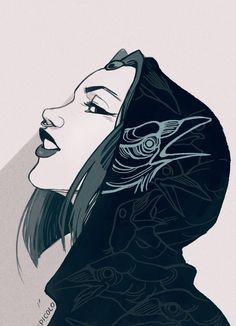 Raven by Picolo-kun on DeviantArt