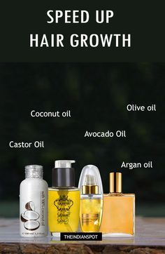 I use all 5 oils. IDK about speeding up the hair growth...but my hair loves the oil combo