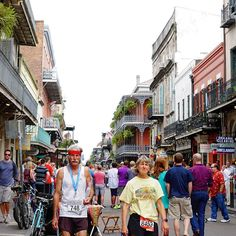 Dare to be fit. No excuses allowed for these folks. On the streets of #frenchquarter #NewOrleans #Louisiana #marathoner #marathonrunner #streetphotography #streetphoto #explorenola #exploreneworleans #streetscene #gooutshoot #gooutandshoot #people #peoplewatching #people #sonyalpha #sonya6300 #shoot #sel35f18 # by c.dee.henson