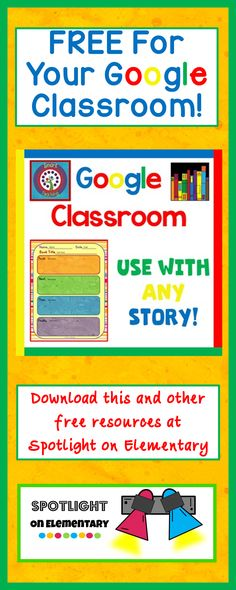 Free for your Google Classroom!  It is so easy for your students.  Retell any story with this resource. #SpotlightOnElementary