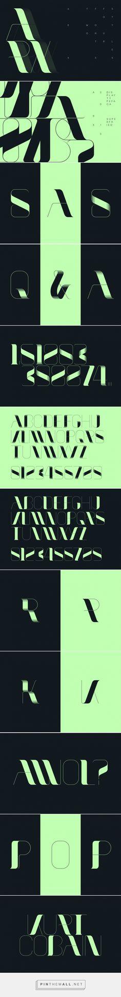 Arx - Desktop Font & WebFont - YouWorkForThem - Posted bySuperfried