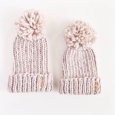 The perfect mommy and me winter hat set  https://www.etsy.com/listing/265241162/mommy-and-me-beanie-set-winter-hats-for