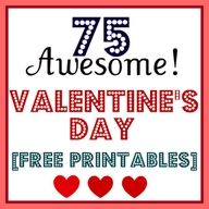 75 Valentines Day Free Printables