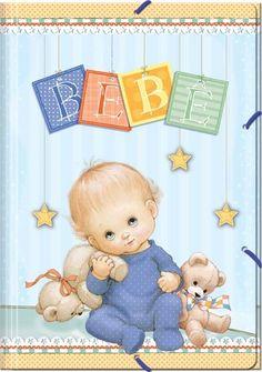 baby boy  card R Morehead