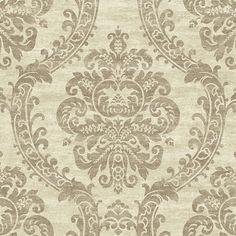 Grand Palais Wallpaper in Off White by Ronald Redding for York Wallcov | BURKE DECOR