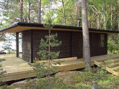 Log Wall, Villa, Artsy, Deck, Cabin, Outdoor Decor, Plants, House, Design