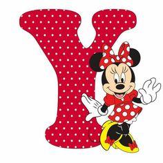 Mouse Alphabet Y Disney Letters, Disney Alphabet, Mickey Font, Mickey E Minie, Disney Clipart, Alphabet And Numbers, Alphabet Letters, Printable Letters, Minnie Mouse Cake