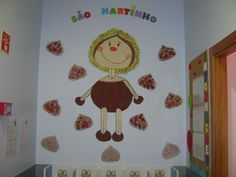 maria castanha - Pesquisa do Google Kids Crafts, Arts And Crafts, Autumn Art, Handicraft, Baby Kids, Techno, Fall Winter, Education, Halloween