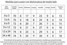 Tejidos Miqueitas | Mod. 4 Abotonadura de medio lado Words, Crochet, Tips, Collar, Lana, Google, Weaving Techniques, Knits, Needle Points