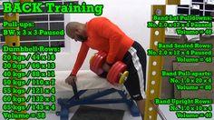 Back Training: http://youtu.be/frWv7otQfrM