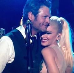Job Well Done - 20 Photos of Blake Shelton and Gwen Stefani That Will Make You Believe in Love Again - Photos