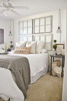 Amazing Farmhouse Bedroom Ideas 17 - TOPARCHITECTURE