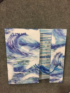 Greeting card made from Mermaid's Tail, a collection by Reminisce.