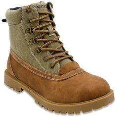 Nautica Men's Alameda Lace-Up Boots Men's Shoes Mens Suit Colors, Men's Shoes, Shoe Boots, Mens Boots Fashion, Fashion Couple, Boots Online, Comfortable Fashion, Lace Up Boots, Hiking Boots