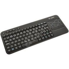 Bezdrátová klávesnice od Logitech i s Touchpadem lze připojit k televizy