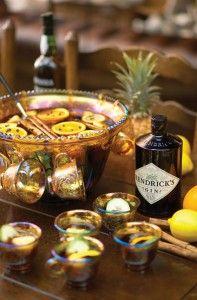 Hendrick´s hot Gin Punsch - zum Wohlsein, Prost